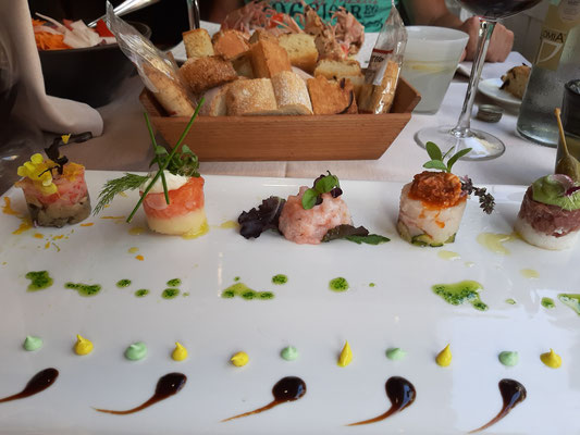 Creative Primi Piatti at Laguna Restaurant