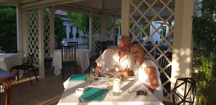 Romancing the stone at Da Guido's Restaurant Jesolo