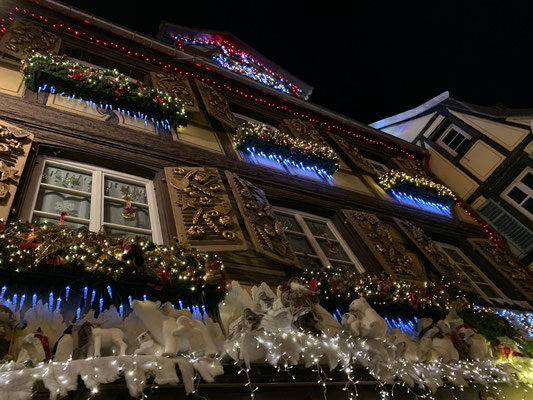 Christmas lights Colmar
