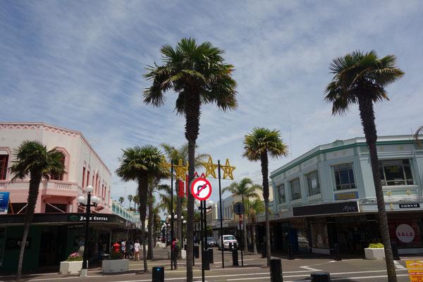 Art deco town Napier New Zealand