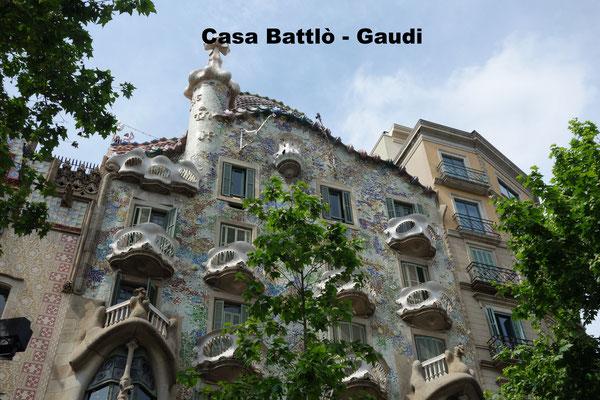 Casa Battlò Gaudi