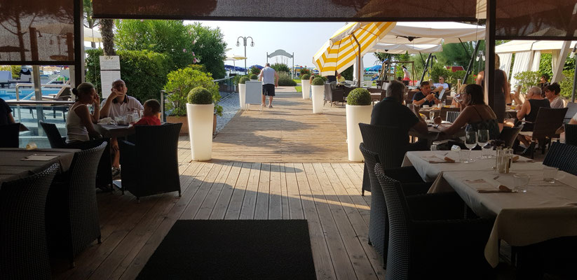 Restaurant at Park Hotel Ermitage - Jesolo