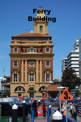 Ferry Building Auckland