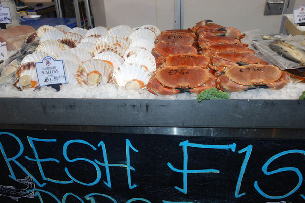 Seafood for foodies Borough Market