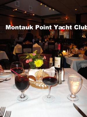 The Montauk Point Yacht Club Long Island