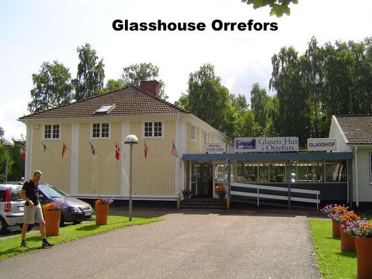 Glasshouse Orrefors Sweden