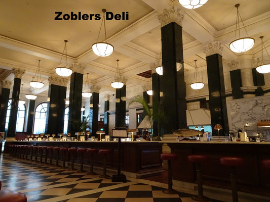 Zoblers Deli Hotel Ned London