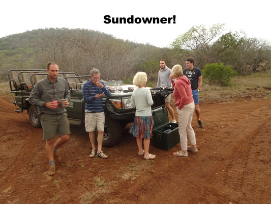 Sundowner Jeep Safari South Africa