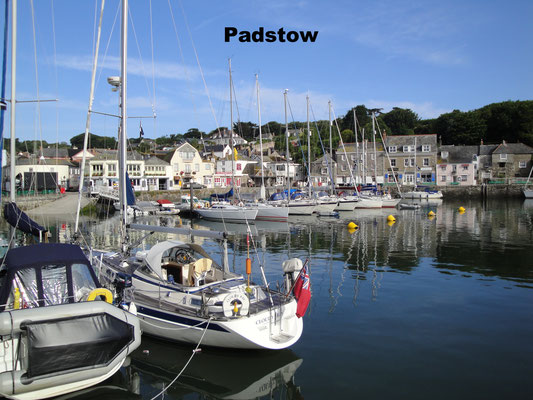 Padstow Cornwall Great Britain