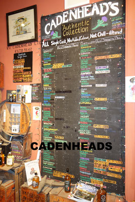 Cadenheads Whiskey Shop