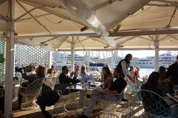 Terrasse at one ocean club barcelona