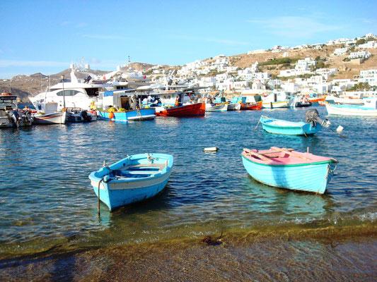 Fisher Boats Mykonos Greece