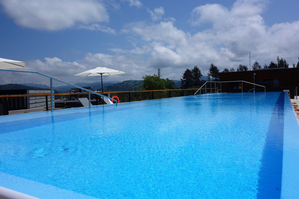Rooftop Pool at Arima Hotel