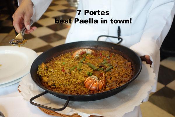 7 Portes Restaurant Barcelona