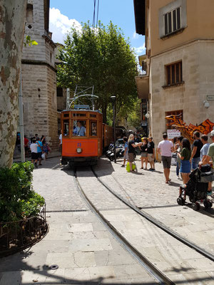 Train in Soller Mallorca