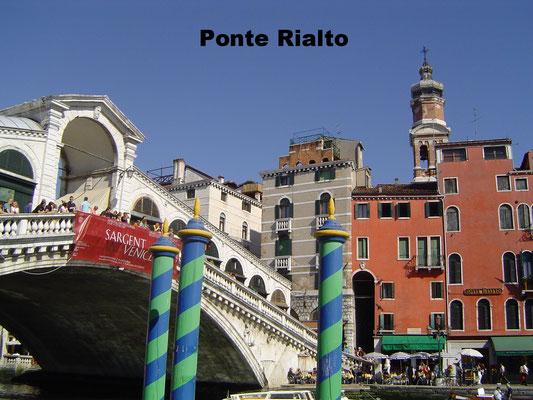 Ponte Rialto Venice Italy