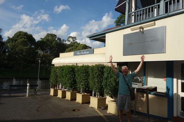 Restaurant Jolley's Boathouse Adelaide Australia