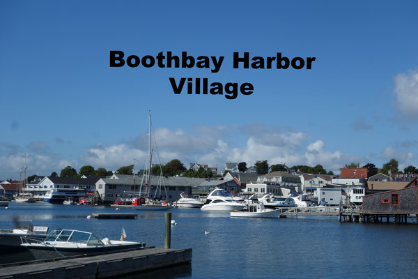 Boothbay Harbor USA