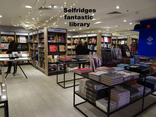 Library Selfridges London