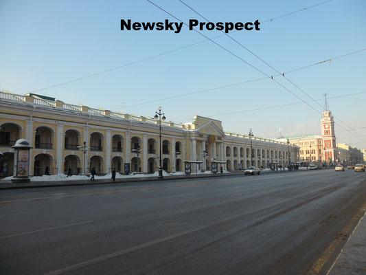 Newsky Prospect St. Petersburg Russia