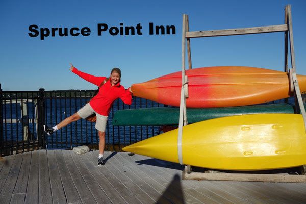 Spruce Point Inn Boothbay Harbor USA
