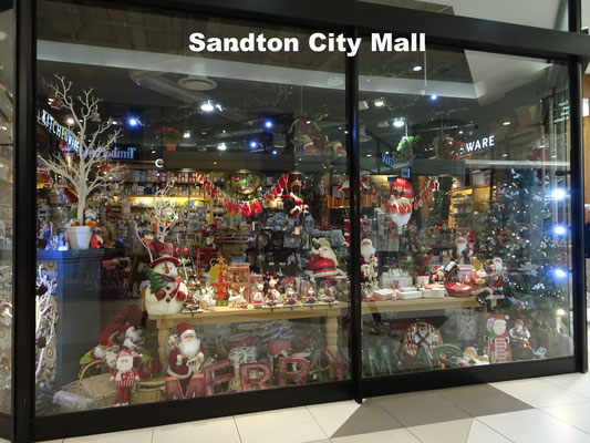 Sandton City Mall Johannesburg South Africa
