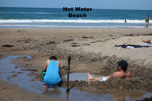 Hot Water Beach Coromandel New Zealand