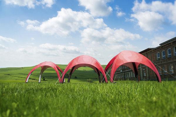 Vento Zelte von 3x3 bis 6x6 Meter