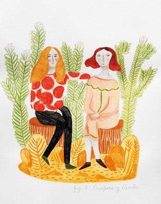 JOSEFINA SCHARGORODSKY: Persephone & Demeter