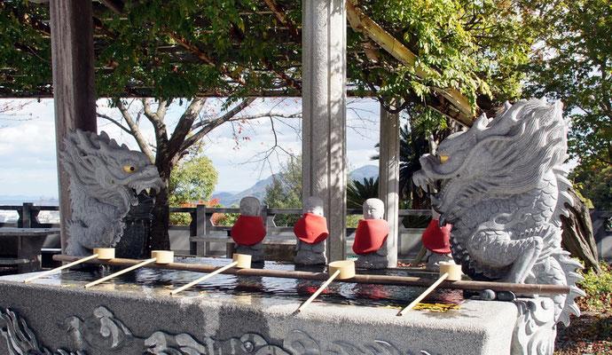 石鎚神宮 手水舎