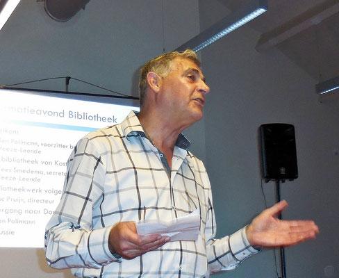 Ben Pollman, voorzitter Stichting Bibliotheek Heeze-Leende