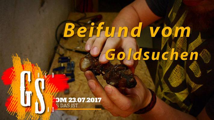 Beifund vom Goldsuchen
