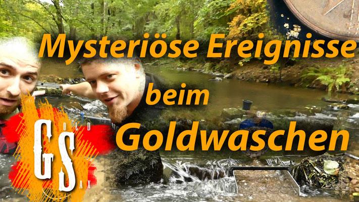 Mysteriöse Ereignisse beim Gold waschen