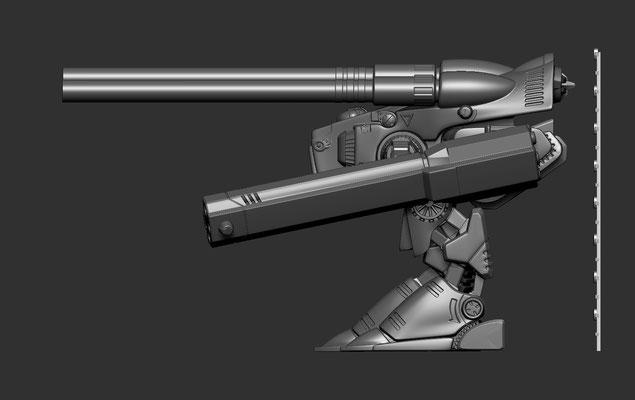 3d modelling - ROBOTECH RPG - MKII MONSTER