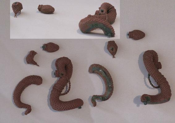 FIMO sculpture for GCT Studios