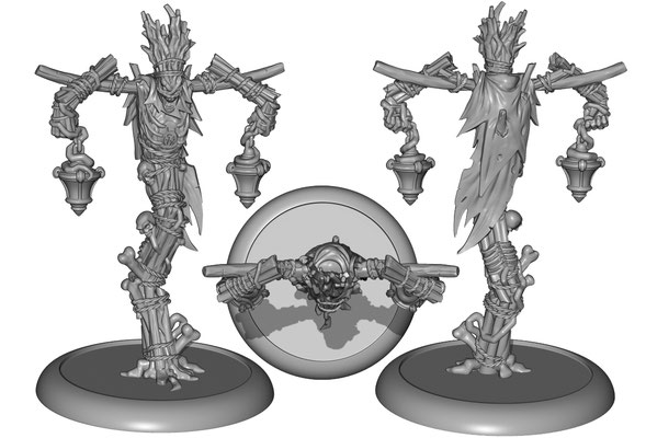 3d modelling - PRIVATEER PRESS - Wold Wight
