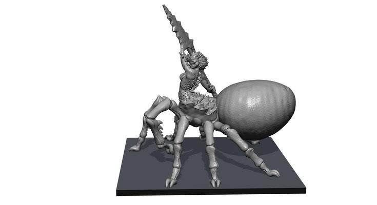 3d modelling - SHIELDWOLF - Aracnomaiden