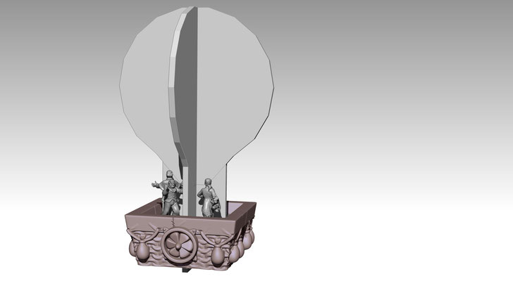 3d modelling - 7th CONTINENT - Nacelle