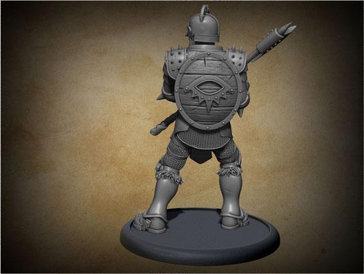 3d modelling - MIERCE - Eye Ascendant Unit