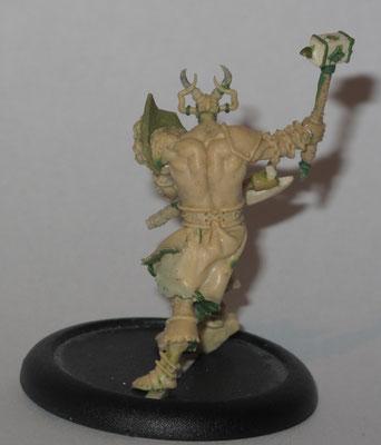 FIMO Sculpture for CoolMiniOrNot  Demon Knight