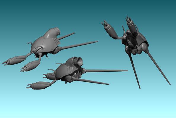 3d modelling - ROBOTECH RPG - Quel-Gulnau