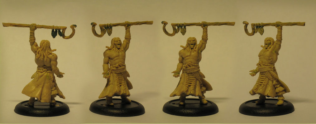 Fimo sculpture for Wyrd miniatures