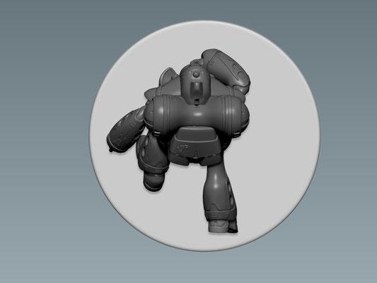 3D MODELLING - ROBOTECH RPG - QUAEDLUUN RAU