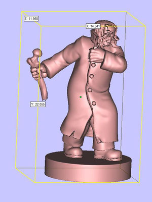 3d modelling - 7th CONTINENT - Victor Frankenstein