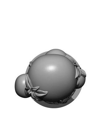 3d modelling - 7th CONTINENT - Plante volante