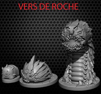 3d modelling - 7th CONTINENT - Vers de Roche