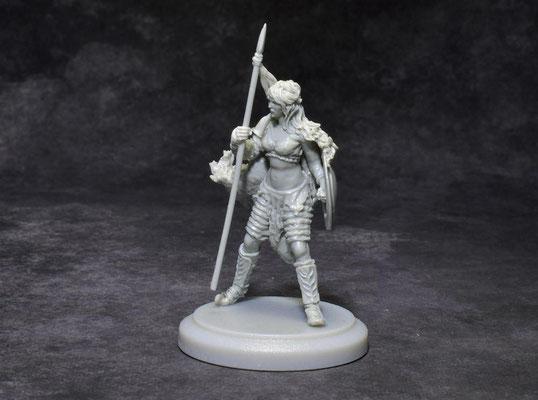Aemelia  FIMO Figurine sculpted for Arena Rex