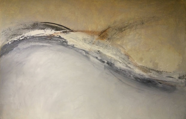 In Schwung   ...   Acryl auf Leinwand   ...   150 x 100 cm