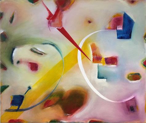 Illusionen   ...   Acryl auf Leinwand   ...   120 x 80 cm