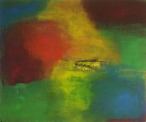 Spiel mit Farben   ...   Acryl auf Leinwand   ...   100 x 80 cm